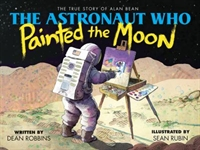 The Astronaut Who Painted the Moon